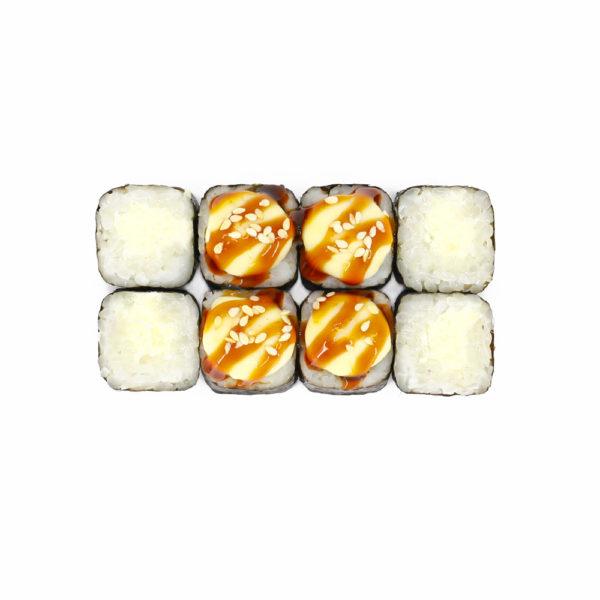 Запеченный мини ролл с сыром