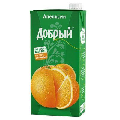 Сок Добрый Апельсин 2 л